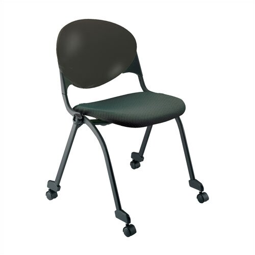 KFI Seating Plastic Stacking Chair with Wheels