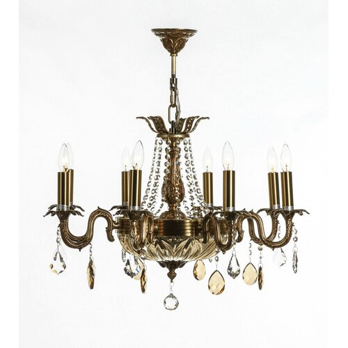 Agder 18 Light Crystal Chandelier
