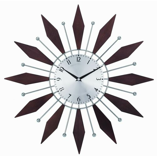 "Control Brand 20"" Harper Sunburst Wall Clock"
