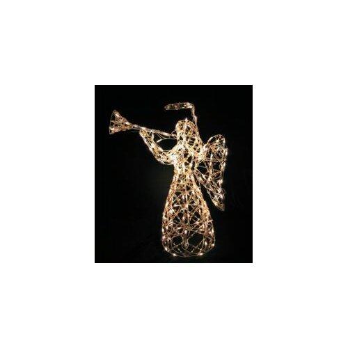 Iridescent Angel Christmas Decoration