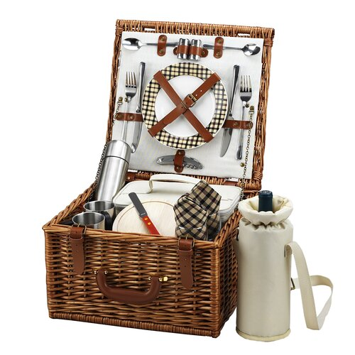 Picnic At Ascot Cheshire Basket for Two with Coffee Service in London