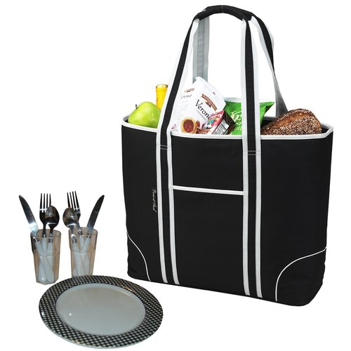 Insulated Picnic Tote for Two