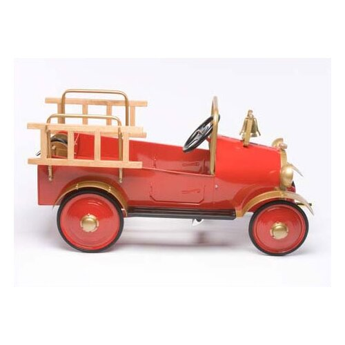 Airflow Collectibles Fire Engine Pedal Car