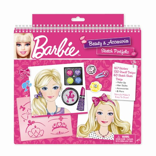 Barbie Beauty and Accessories Sketch Portfolio