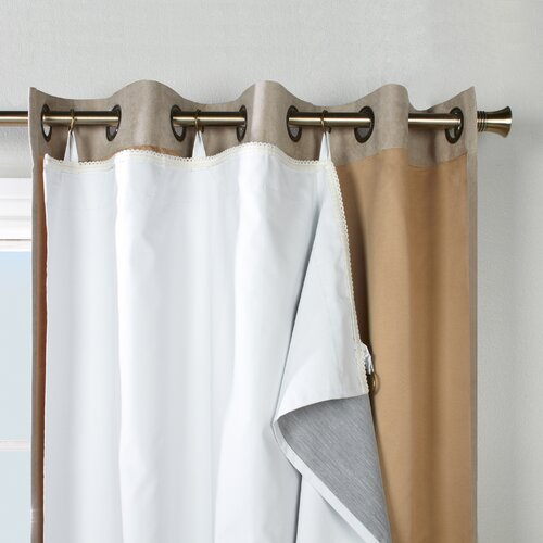 ... Thermalogic Ultimate Single Panel Curtain Liner & Reviews | Wayfair