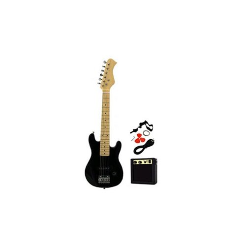 Stedman Pro Kids Electric Guitar in Black