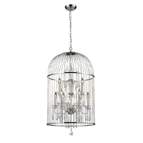 Avary 9 Light Crystal Chandelier