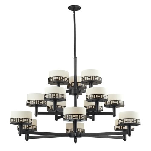Elea 15 Light Drum Chandelier