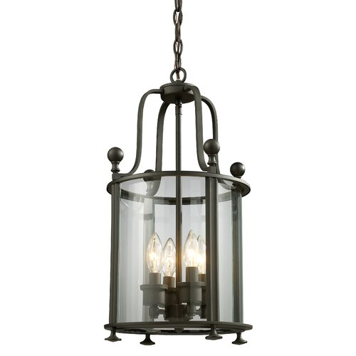 Z-Lite Wyndham 4 Light Foyer Pendant
