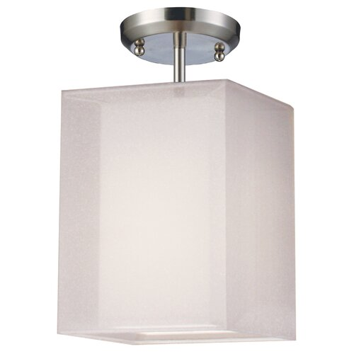 Z-Lite Nikko 1 Light Semi Flush Mount