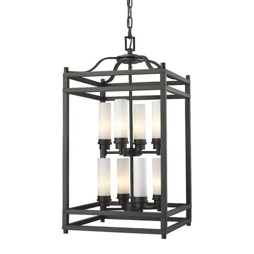 Z-Lite Altadore 8 Light Metal Foyer Pendant