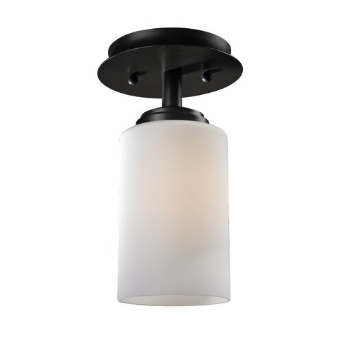 Z-Lite Chambley 1 Light Flush Mount