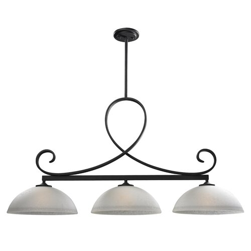Z-Lite Arshe 3 Light Kitchen Island Pendant
