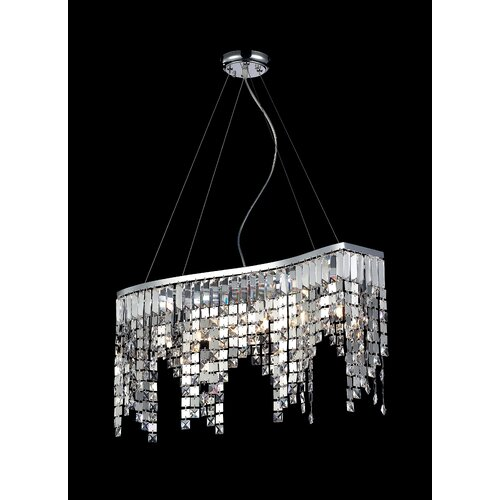 Nyssa 6 Light Crystal Chandelier