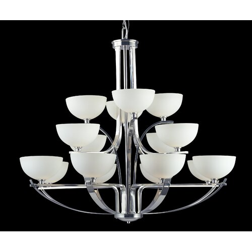 Ellipse 16 Light Chandelier