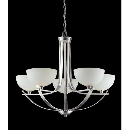 Ellipse 5 Light Chandelier
