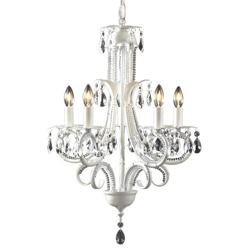Parisian 5 Light Crystal Chandelier
