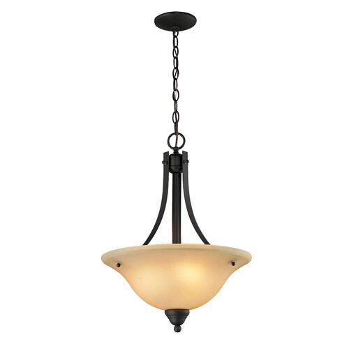 Athena 3 Light Bowl Pendant