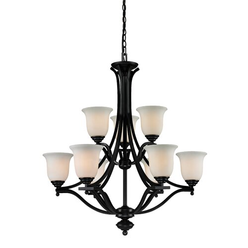 Z-Lite Lagoon 9 Light Mini Chandelier