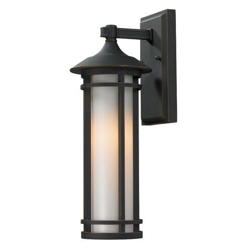 Z-Lite Woodland 1 Light Outdoor Wall Light