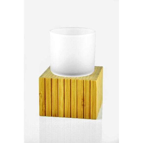 Nature Home Decor Atlantic 3310 Tumbler with Fluted Holder