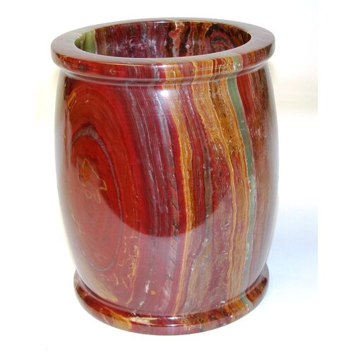 Nature Home Decor Onyx Waste Basket