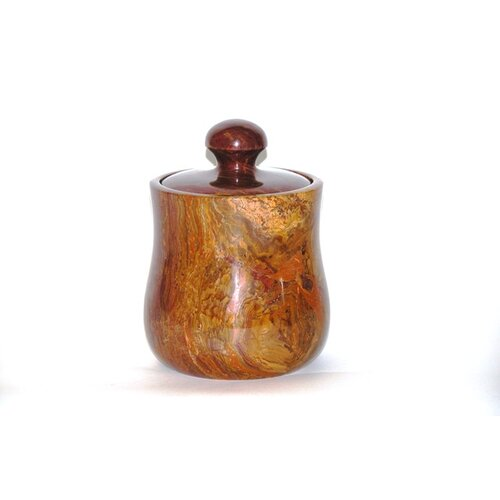 Nature Home Decor Onyx Decorative Canister