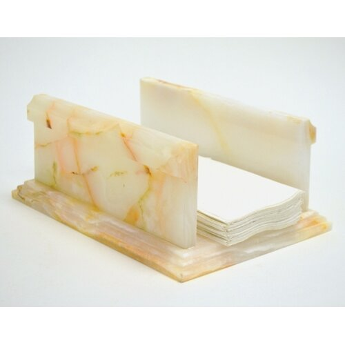 Nature Home Decor White Onyx Towel Holder
