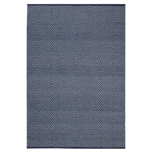 Zen Dark Blue/Bright White Rug