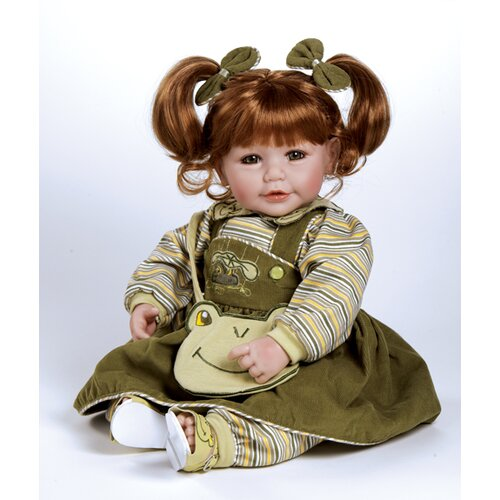 Adora Dolls Baby Doll Froggy Fun Red Hair / Green Eyes