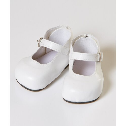 "Adora Dolls 20"" Doll Mary Jane Shoes in White"