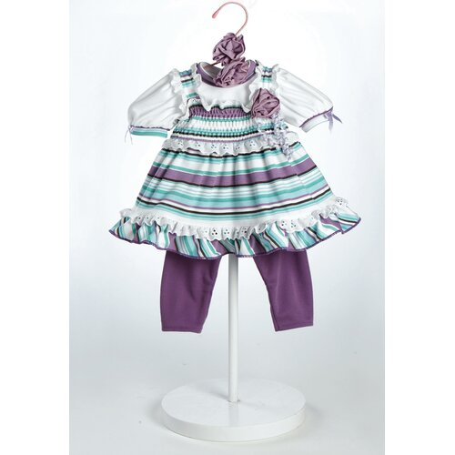 "Adora Dolls 20"" Baby Doll Grape Soda Costume"