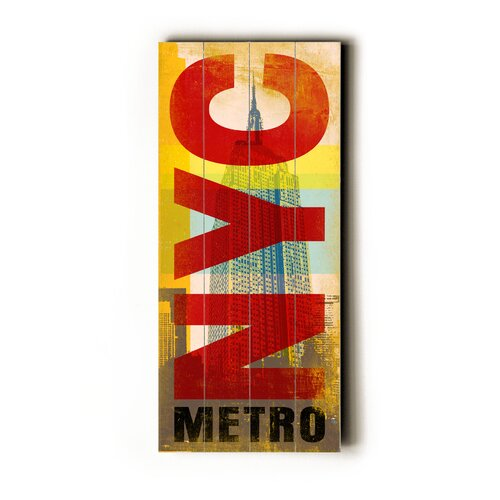 Artehouse LLC NYC Metro Transit Textual Art Plaque