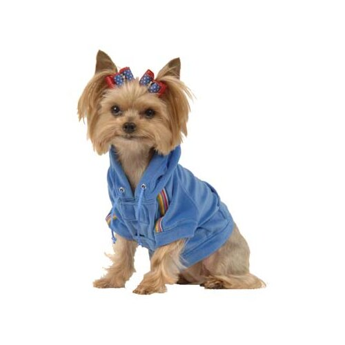 Max's Closet Velour Dog Hoodie
