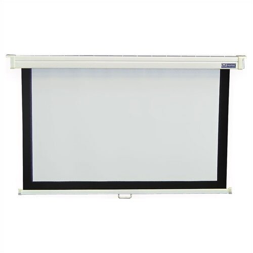 Vutec Consort Deluxe Econo Pro Matt White Manual Projection Screen
