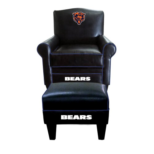 NFL Game Time Arm Chair and Ottoman