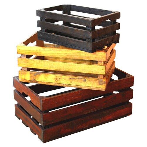 Decorative Crates (Set of 3)