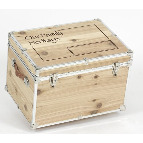 Stanley Case Works Our Family Heritage Cedar Trunk