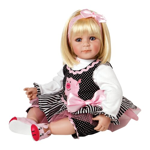 "Charisma Dolls Adora ""Oink"" Doll with Light Blond Hair / Blue Eyes"