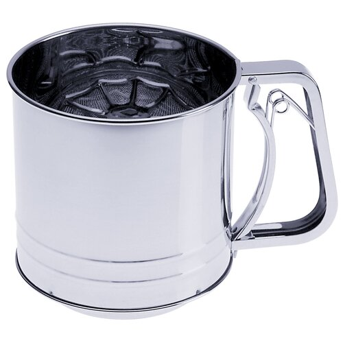 Progressive International 5 Cup Triple Screen Flour Sifter