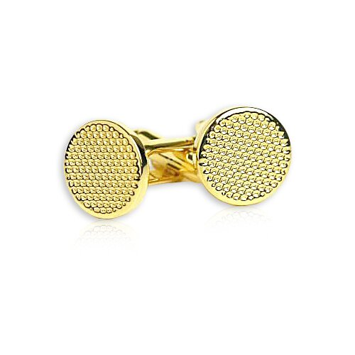 Cuff-Daddy Metal Cufflinks in Gold