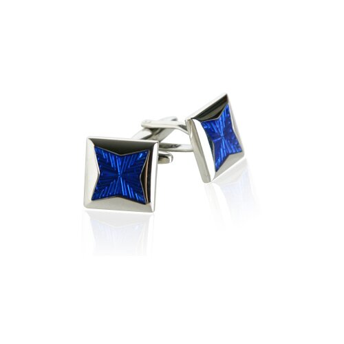 Starburst Cufflinks in Blue