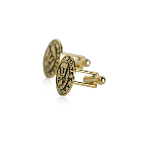 Cuff-Daddy US Navy Cufflinks in Gold