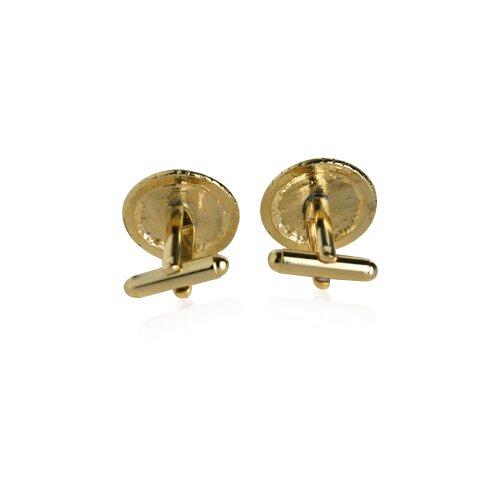 Cuff-Daddy USMC Marine Corp Cufflinks in Gold