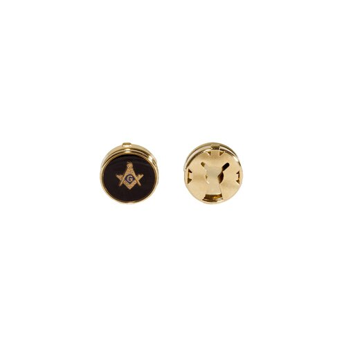 Cuff-Daddy Masonic Button Covers