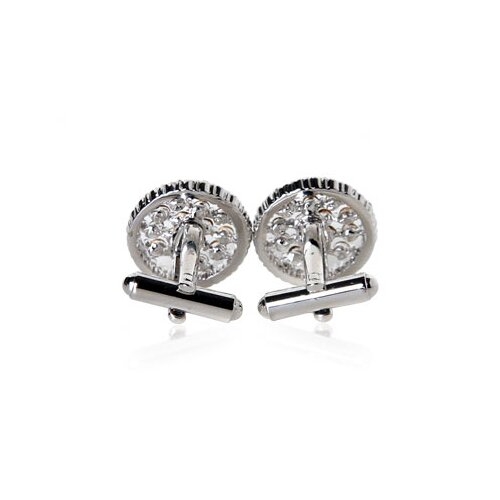 Cuff-Daddy Floating Crystals Cufflinks
