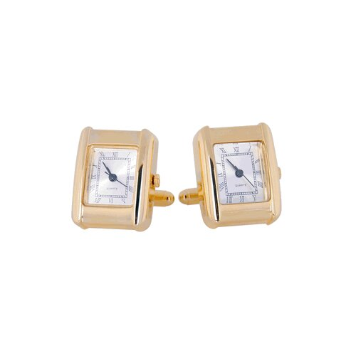 Cuff-Daddy Elegant Gold Watch Cufflinks