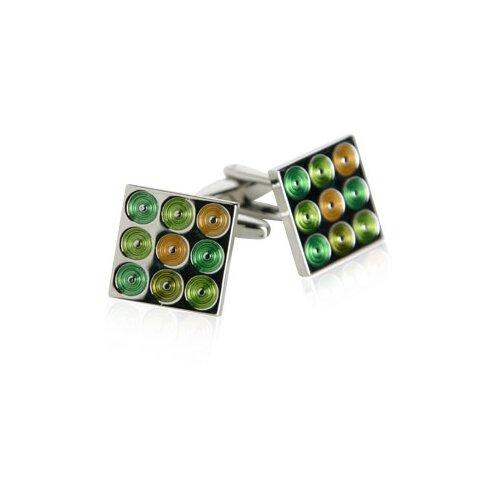 Turntables Cufflinks in Green