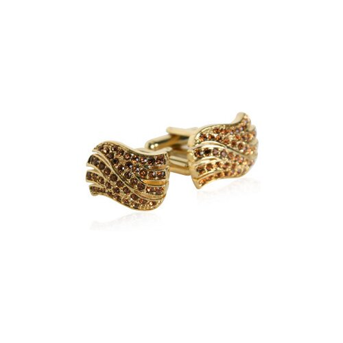 Cuff-Daddy Golden Wave Cufflinks