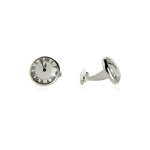 Cracked Pepper Big Ben Cufflinks